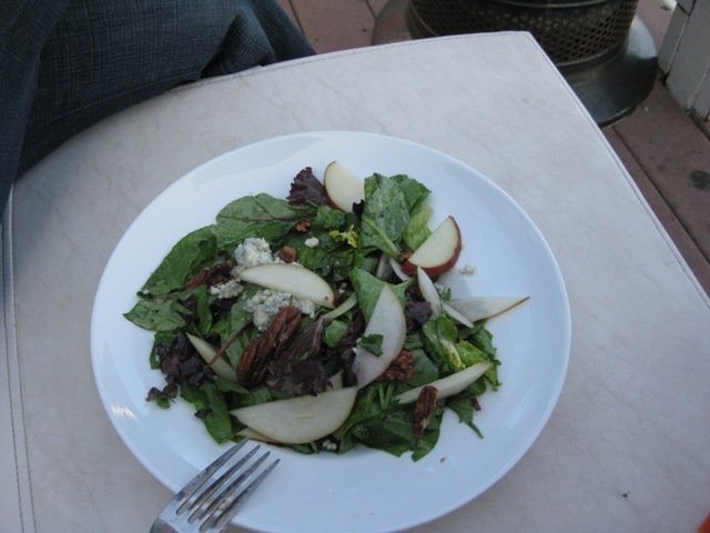 Bartlett Pear Salad, $12