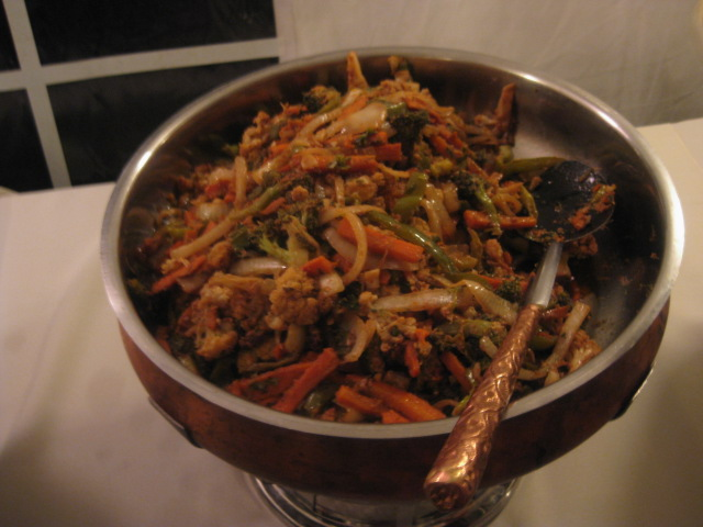 Stiry fry veggies