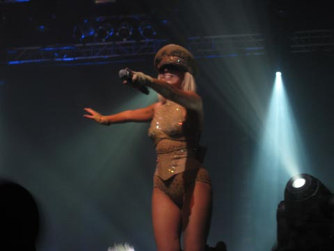Gaga at Terminal 5, NYC