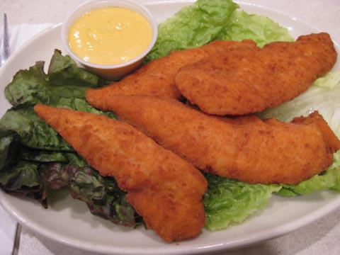 Chicken Fingers, $6.75