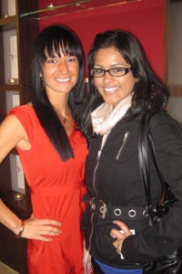 Me with the lovely Jeannine Morris!