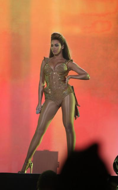 Beyoncé at her I AM... show