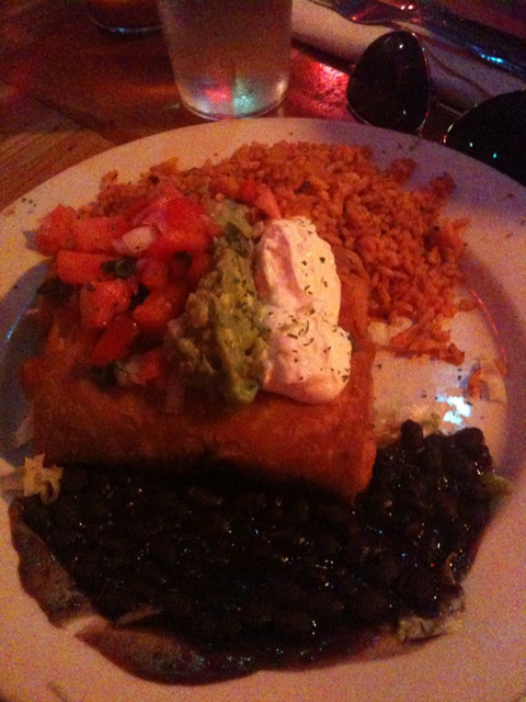 Chicken Chimichanga, $14.95