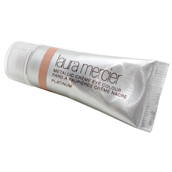 Laura Mercier Metallic Eye Creme in Platinum