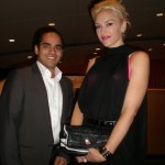Fahad...and Gwen Stefani at the UN