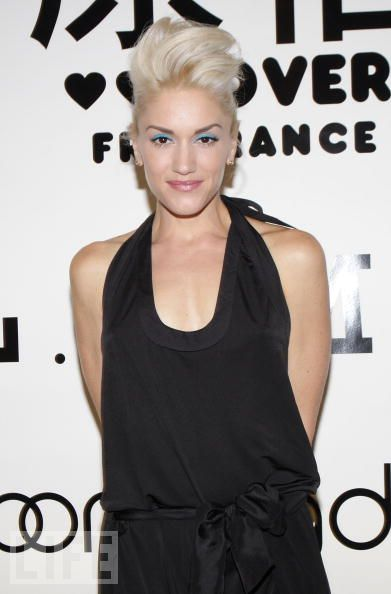 Gwen Stefani at Bloomingdale's 59th St for Fashion's Night out. Credit: Jerritt Clark