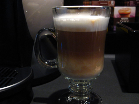 My cappuccino!