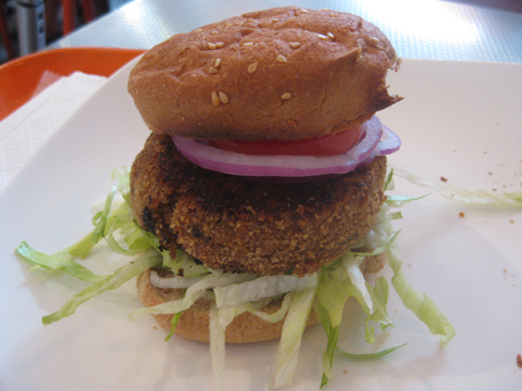 Veggie burger from Better Burger