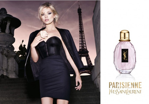 Kate Moss is the face of new YSL fragrance, Parisienne