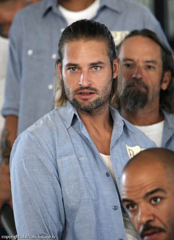 Josh Holloway aka Sawyer on Lost