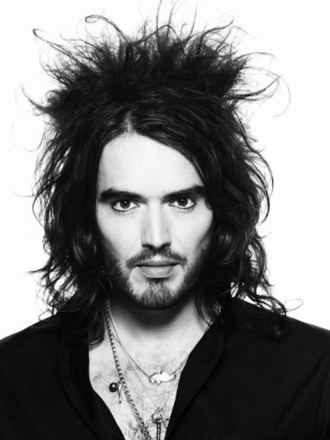 British comedian and actor, Russell Brand