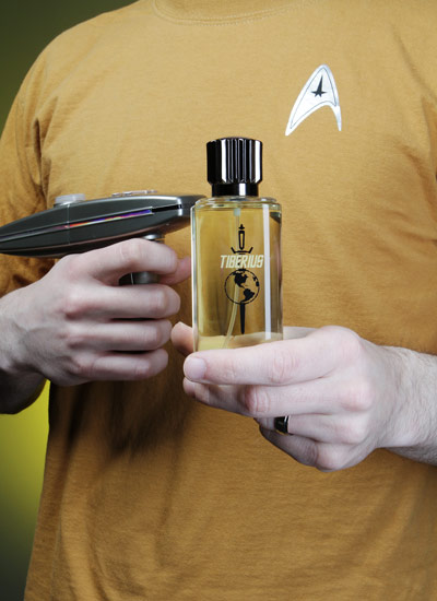 The new Star Trek cologne. Couldn't make this up even if I wanted to.