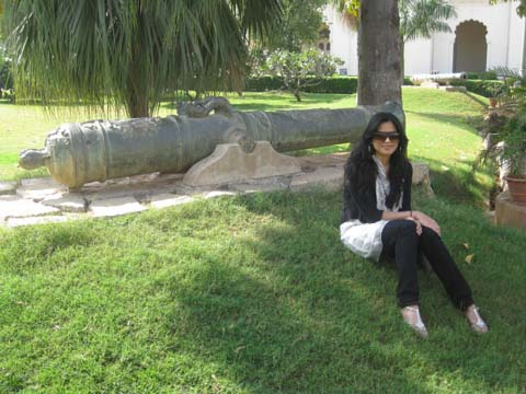 Chillen at the Chowmahalla Palace in Hyderabad :)
