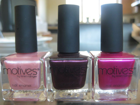 Motives' new Nail Candy polishes