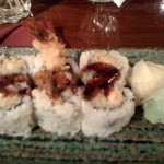 My boring shrimp tempura roll