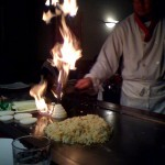 Hibachi in action