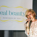 Katherine McPhee performing at the RealBeauty.com Launch Party