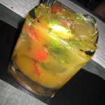 Sha - Muddled fresh strawberries, mango, lime and spearmint, $10