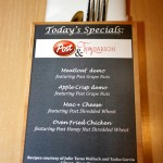 Today&#039;s Specials!