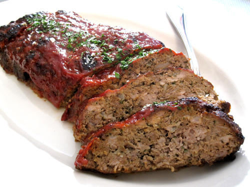 Meatloaf with Grape Nuts