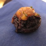 Balsamic-glazed stuffed mushrooms