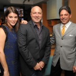 Top Chef judges Gail Simmons, Tom Colicchio and Terlato President and CEO, Bill Terlato
