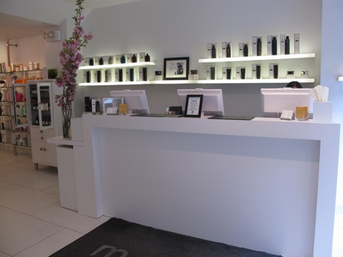 Mizu front desk beauty and the feast for Mizu hair salon nyc