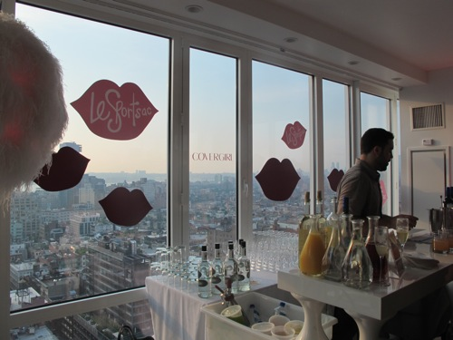 covergirlpat mcgrathlesportsac party at the mondrian in