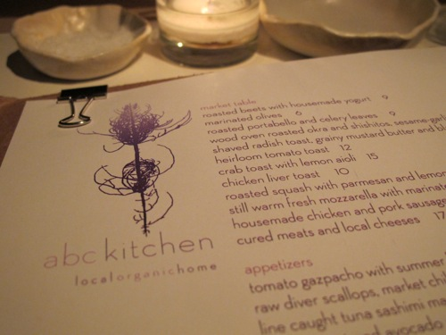 Farewell Dinner at ABC Kitchen | Beauty and the Feast