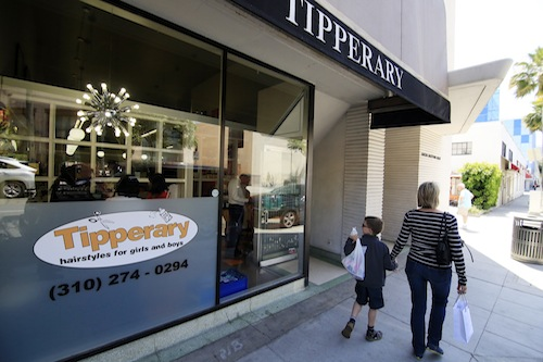 Tipperary Salon in Beverly Hills
