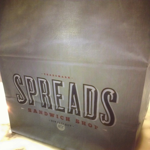 spreads bag