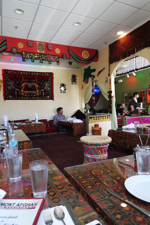 Afghani beauty and the feast for Afghan cuisine fremont