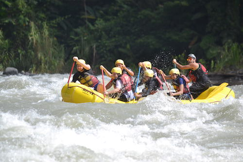 White water rafting with Rios Tropicales