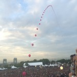 Gov Ball balloon arch