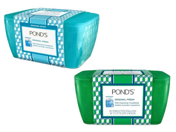 Jonathan Adler-designed Pond's cases