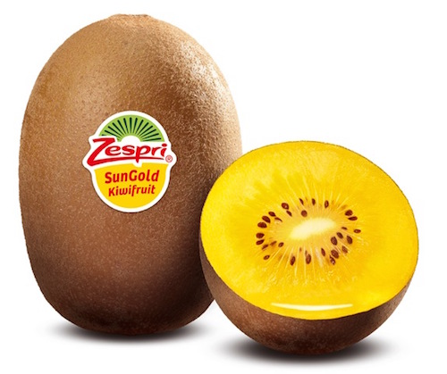Zespri SunGold kiwifruit are in season from now until October!
