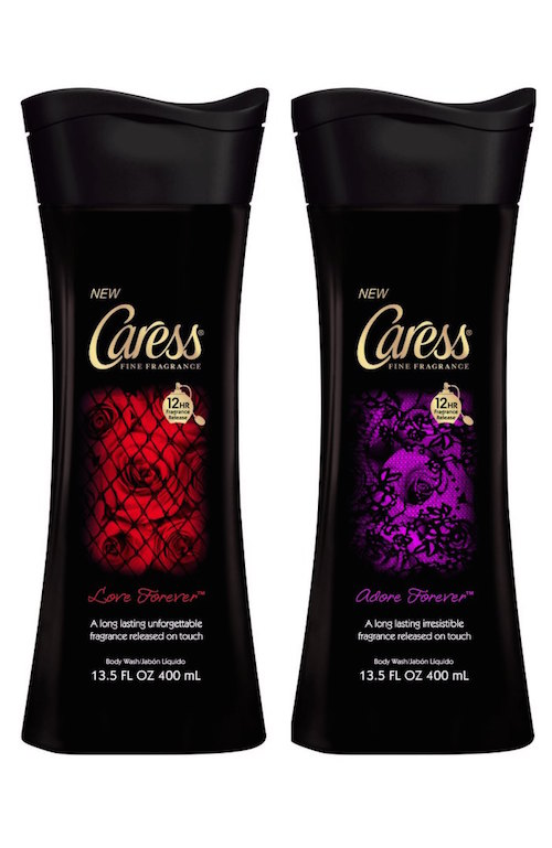 Caress Forever body washes