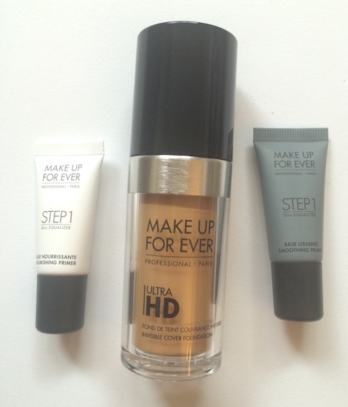 Make Up For Ever Ultra HD Foundation and primers