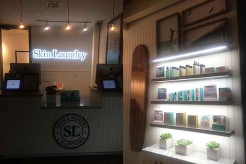 Skin Laundry in the Le Parker Meridien Hotel, NYC
